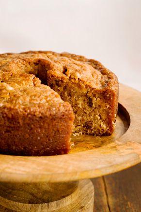 Paula Deen Grandgirl's Fresh Apple Cake from Georgia