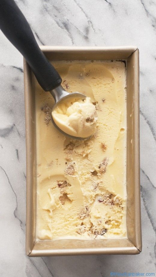 HOMEMADE COFFEE COOKIE DOUGH ICE CREAM