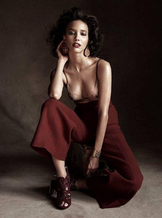 Cora Emmanuel, Antidote Magazine, Victor Demarchelier, Black Fashion Models