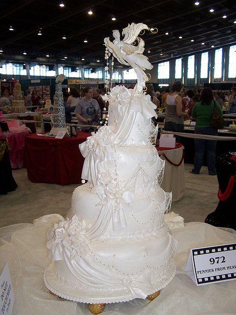 Wedding Cake Tulsa Cake Show by Ally Cake Designs, via Flickr