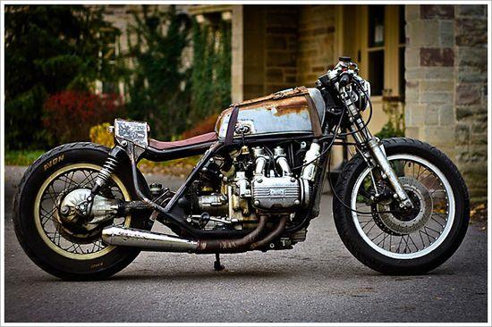 1975 Honda Goldwing Rat - 'El Guapo' - Pipeburn - Purveyors of Classic Motorcycles, Cafe Racers & Custom motorbikes