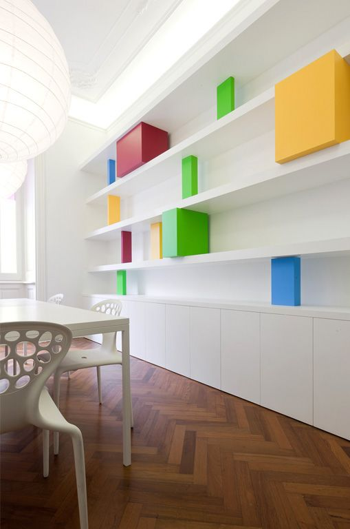 L'Invisibile has opened its new store in Milan #colour