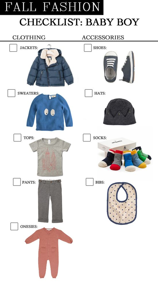 Fall Fashion Trends for Baby Boy