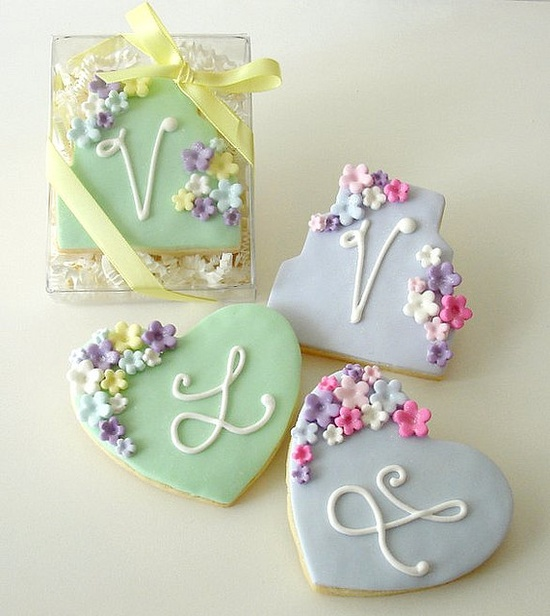 Pretty cookies.