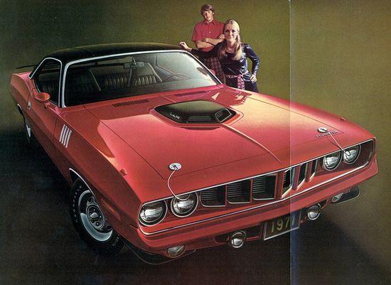 1971 Plymouth Hemi 'Cuda Hardtop