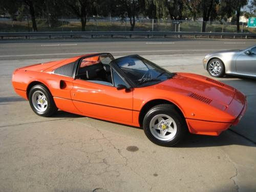More orange classic sports cars