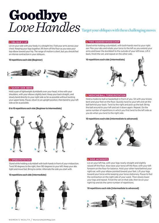 Oblique workouts