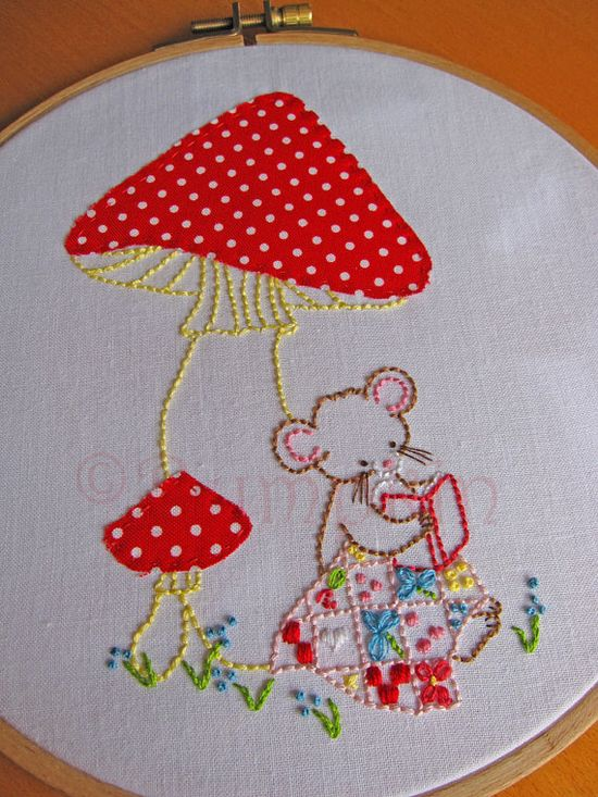 Sweet Stories Hand Embroidery PDF Pattern by Bumpkin on Etsy.