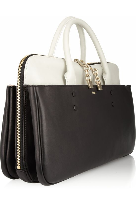 CHLOÉ  Lucy leather tote