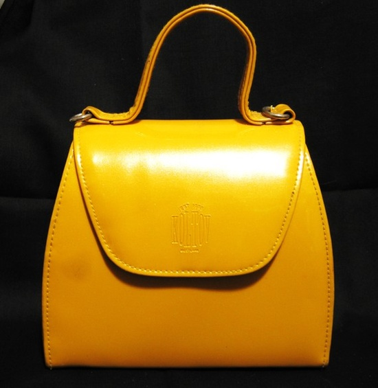 Small Yellow Vintage Purse
