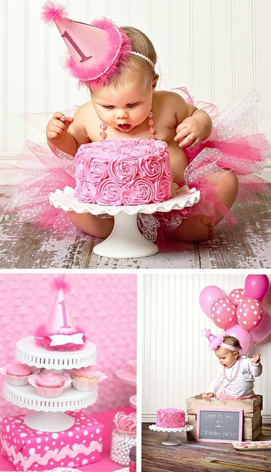 Baby's 1st Birthday Photo Ideas