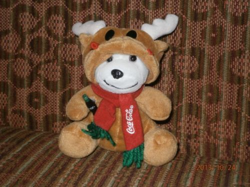 Charity Item Stuffed Animal Plush Toy Kids Toy Donation Coca Cola Bear