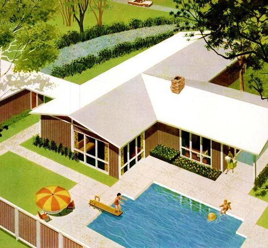 """The """"Greenbriar"""" custom line home c. 1960"""