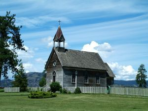 Old country church...