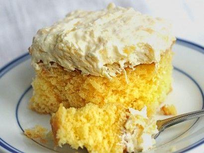 Yellow Cake Mix With Mandarin Oranges