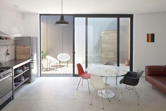 Simple modern kitchen interior