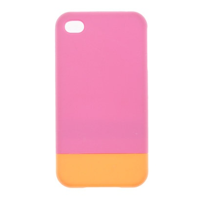 Colorblock iPhone 4 case jcrew