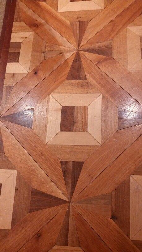 Beautiful wood floor design