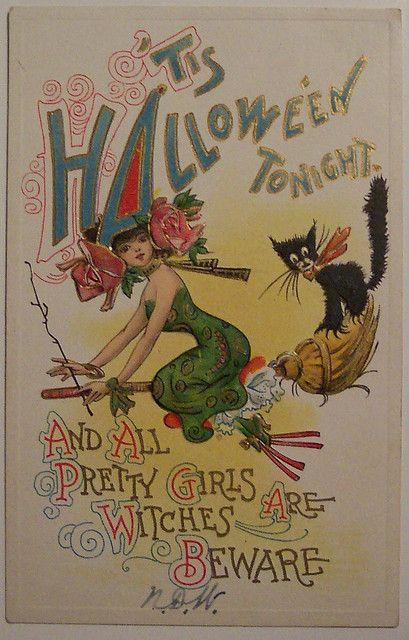 Vintage Halloween Postcards