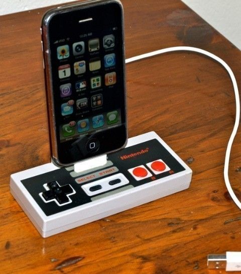 Nintendo phone dock