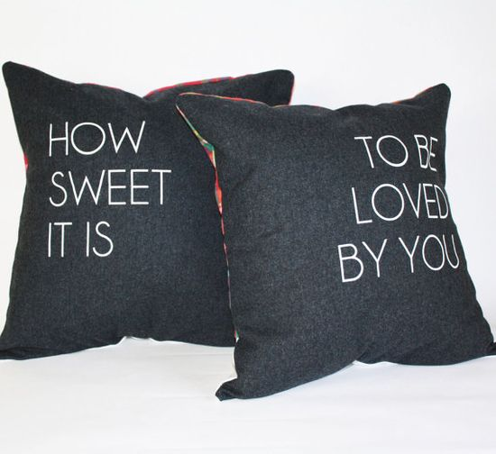 Different fabric on back...but love this idea!