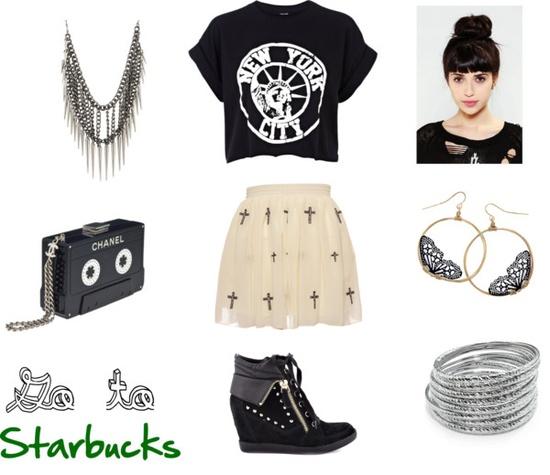 """Look Starbucks"" by divasdamusicaofc on Polyvore"