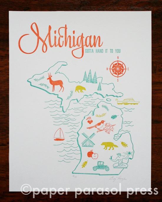 vintage letterpress travel posters - Google Search