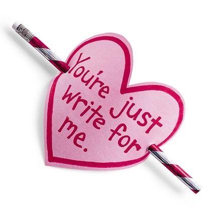 Valentine Card: The Write Card