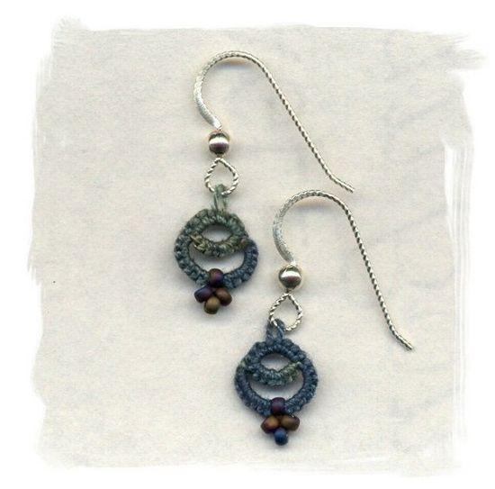 cute!  $20 #etsy #earrings #tatted #jewelry