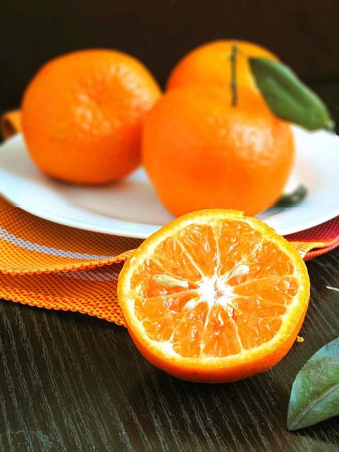 love the taste and color of orange...