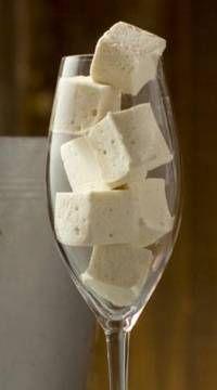 Champagne marshmallows NYE