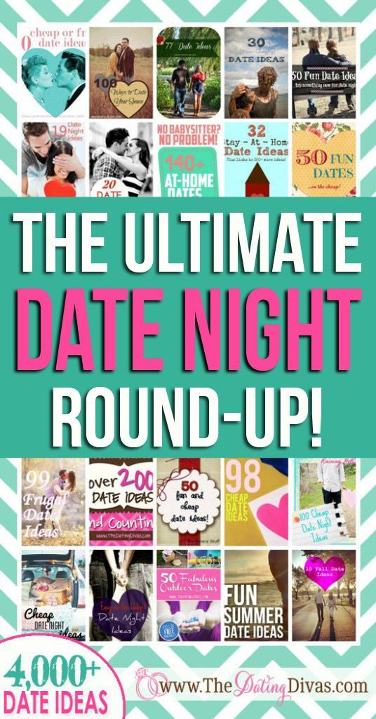 WOWZER! A giant round-up of all the BEST date idea round-ups. There's seriously thousands of date ideas on here.  Must-pin!