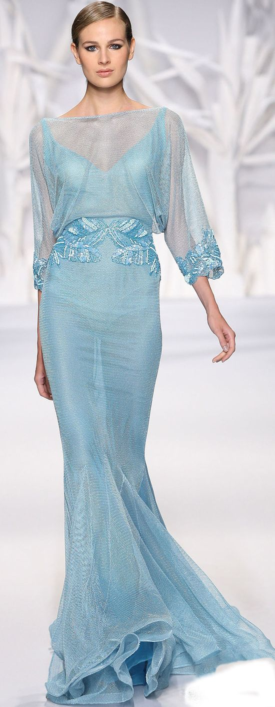 By Lebanese fashion designer Abed Mahfouz Haute Couture Fall-Winter 2013-2014