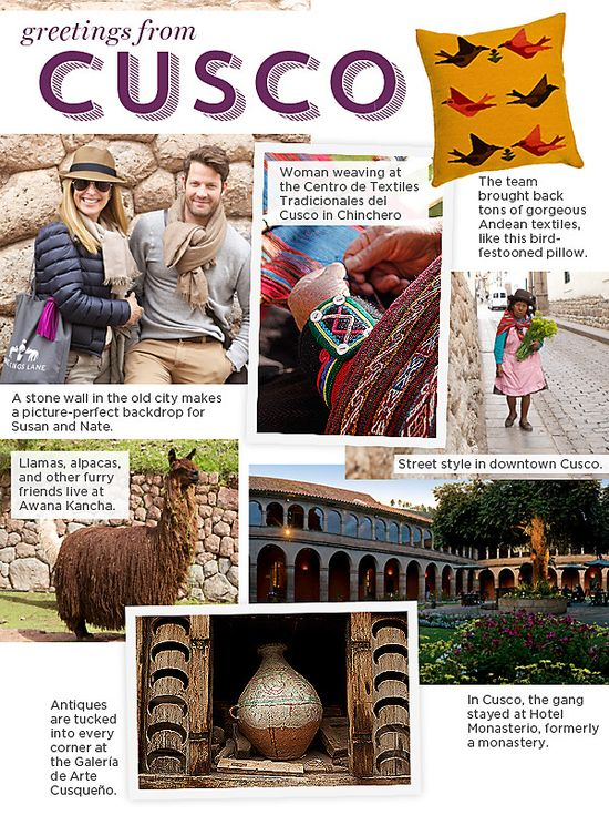 Peru Travel Guide -- One Kings Lane
