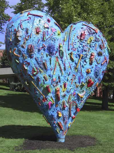 The Technicolor Heart by Jim Dine @ Meijer Gardens & Sculpture Park - Grand Rapids, Michigan