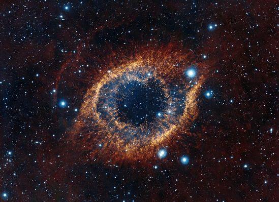 The Helix Nebula - VISTA Telescope