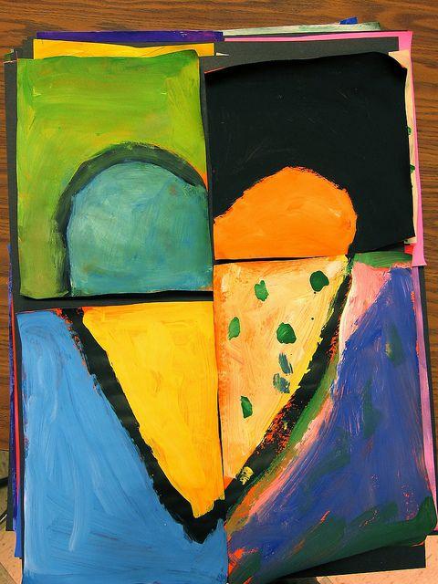 Heart, cut, paint, reassemble: dine