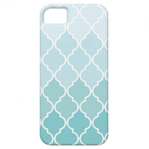 Ombre Quatrefoil iPhone Case iPhone 5 Cover $39.95