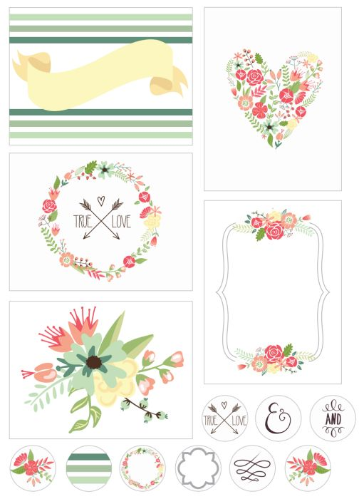 108 Best Free Printable Project Life And Journaling Cards Images