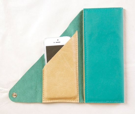 The Wrap Wallet, I think I can make this...out of vinyl :)