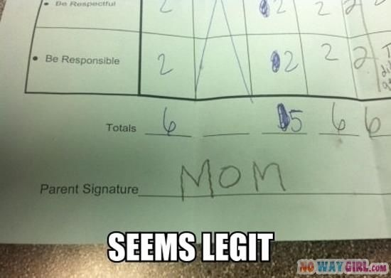 Did someone take a picture of my son's homework??