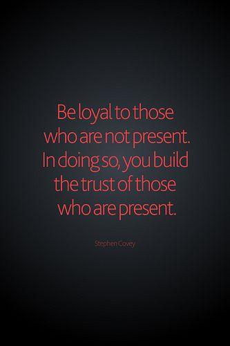 Integrity.....
