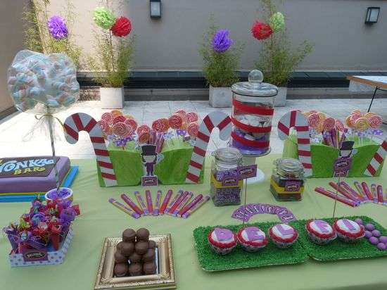 Willy Wonka Party #willywonka #party