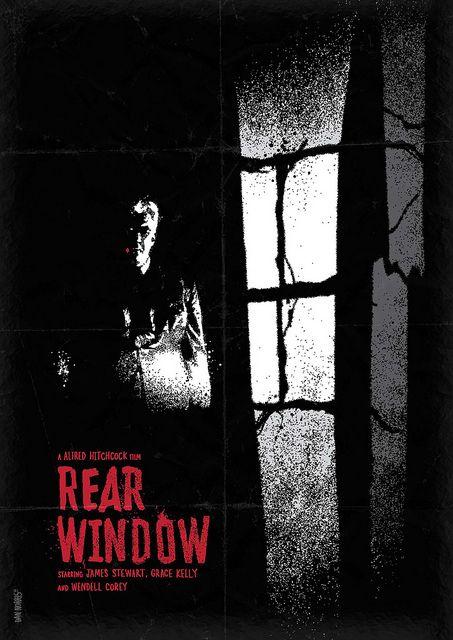Rear Window - movie poster - Daniel Norris