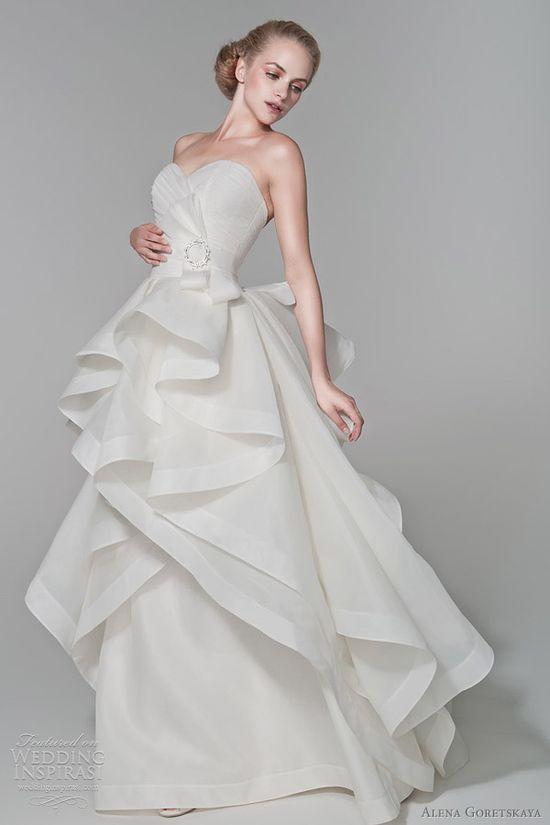 alena goretskaya 2012 wedding dresses