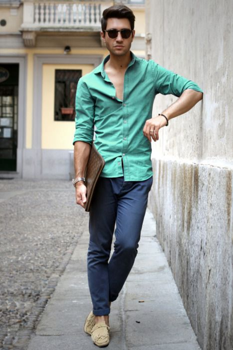 The colors // Men's fashion : Style for man : Street style & Wardrobe