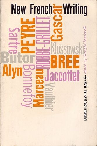 Roy Kuhlman, cover design for New French