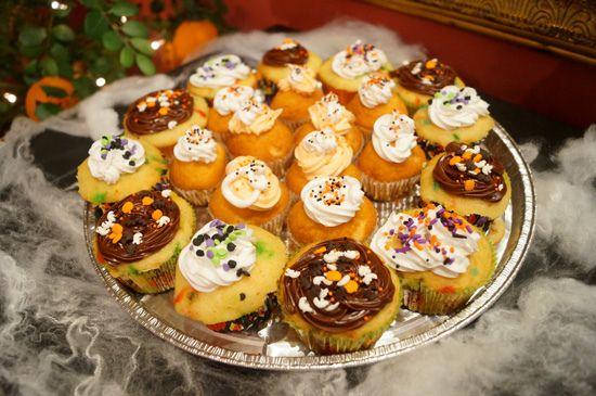 Halloween Dessert - Cupcakes