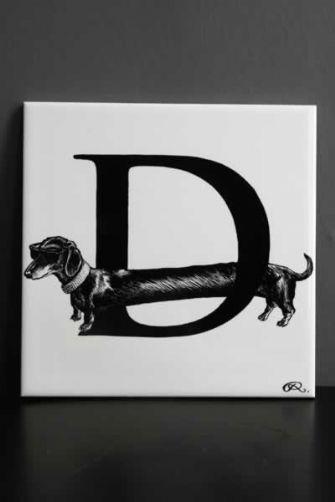D = Dachshund