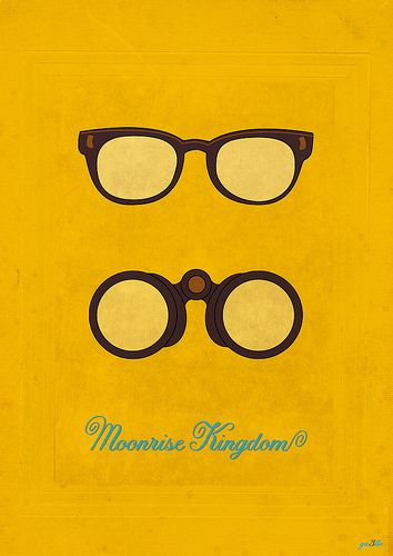 Moonrise kingdom poster .